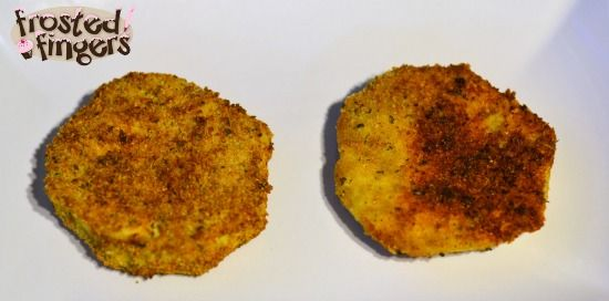 Fried Eggplant Parmesan, maybe not this recipe, but mine with the same cooking instructions