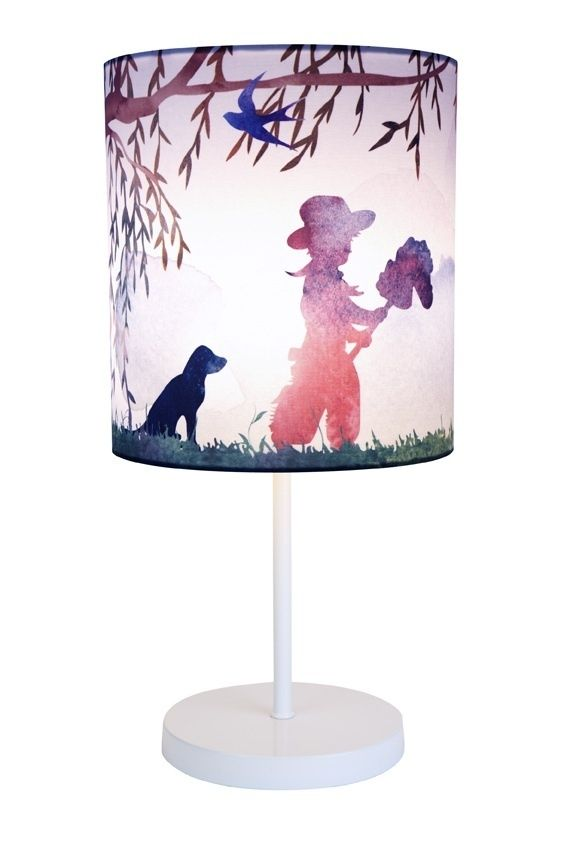 this beautifully decorated lamp is the perfect decoration for a childu0027s bedroom it has a