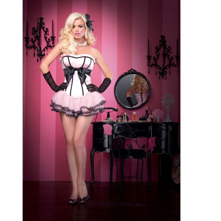 ladies Sweety girls pink corset with tutu skirt big bow corset Layers Ruffles Burlesque Pettiskirt wedding corset w3087