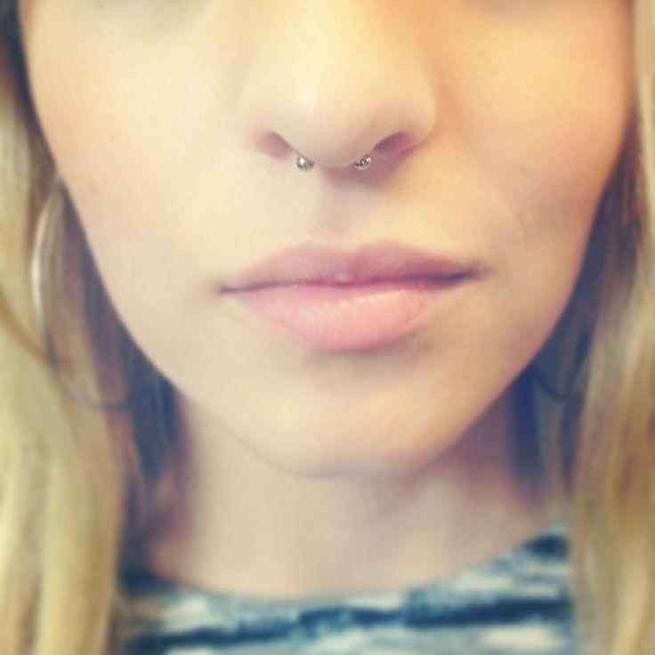 Septum piercing #cute