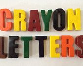 Make your name with crayons!