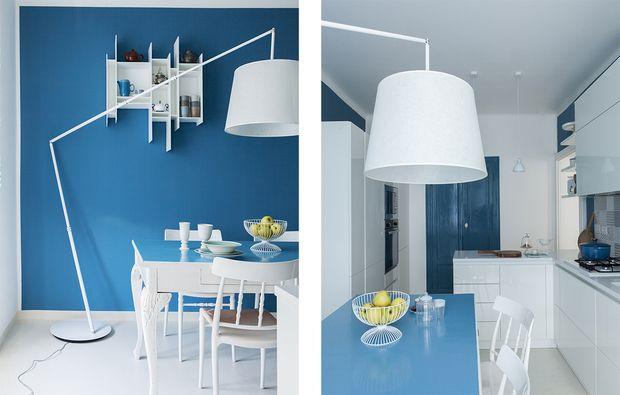 Come illuminare una stanza buia con il colore azzurro