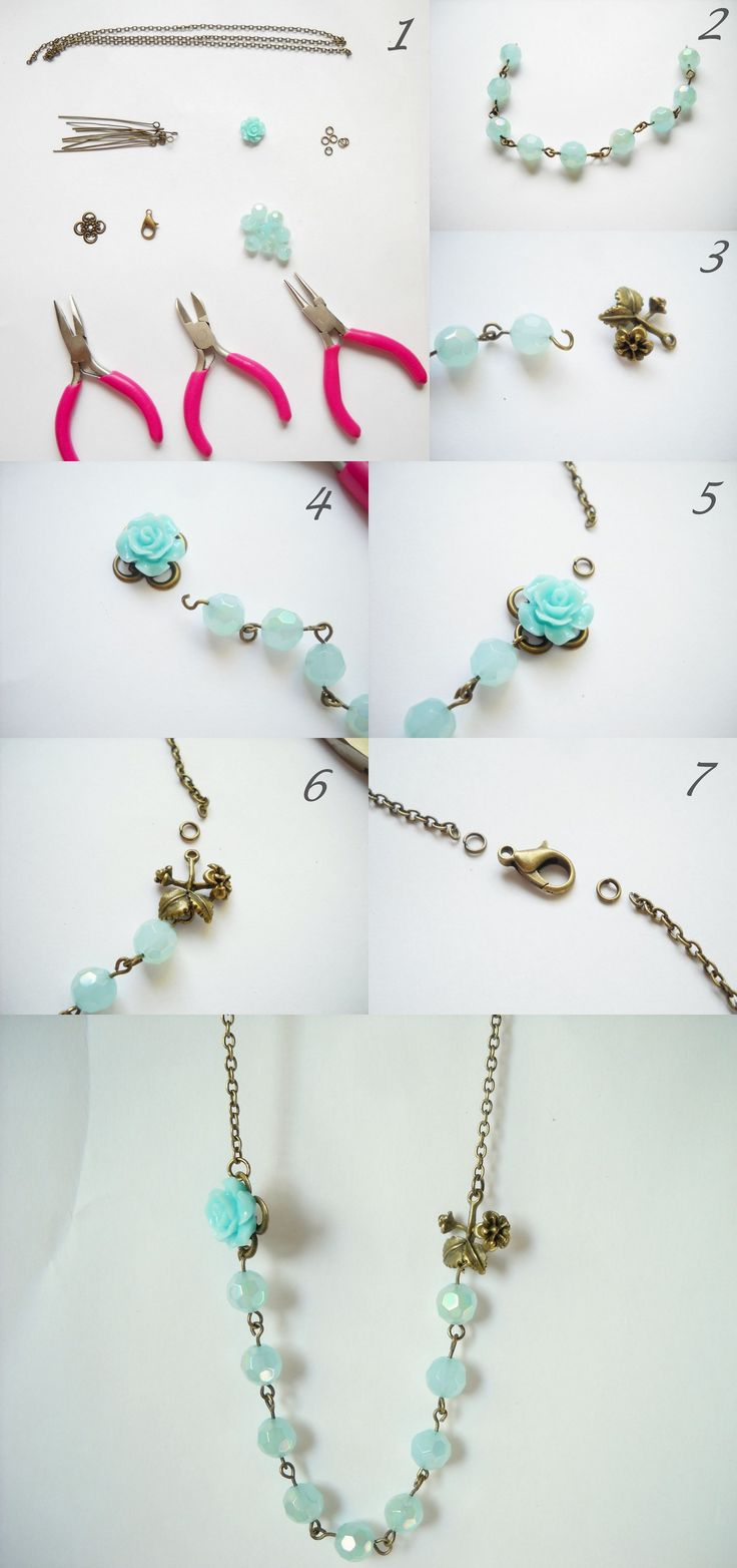 diy, nyaklánc, diy necklace