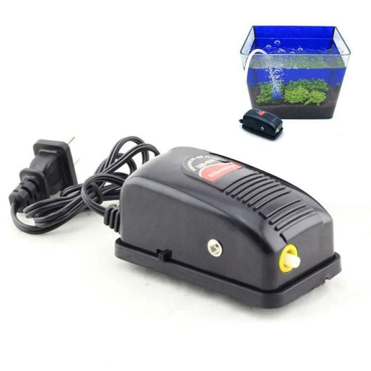 3W Super Silent Adjustable Aquarium Air Pump #AquariumAirPumpFishTanks #AquariumHeaterProducts