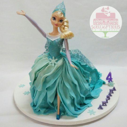 The 25 best Elsa doll cake ideas on Pinterest Elsa cakes
