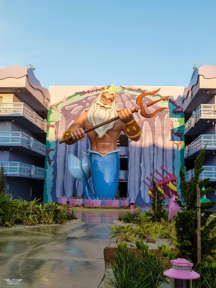 Disney's Art of Animation Resort is a value resort that features both family suites and standard rooms. Each section of the resort is themed after a beloved Disney animation film and features some larger than…