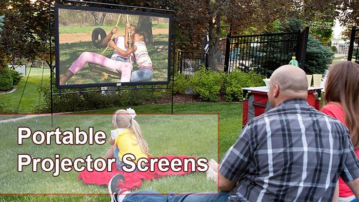 The list we have provided is a summary of the best portable projector screens out on the market. Your perfect fit will be one that suits your needs