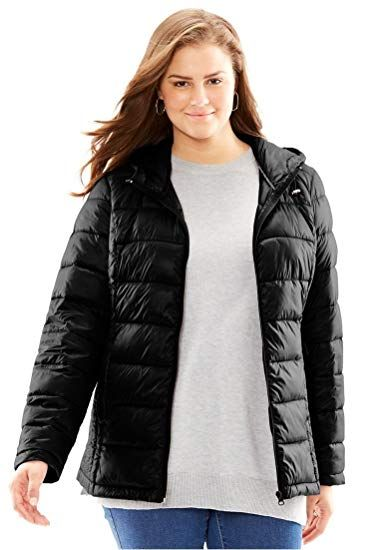 8dbce0a1097 New Woman Within Plus Size Packable Puffer Jacket online.   50.49   nanaclothing Fashion is a popular style