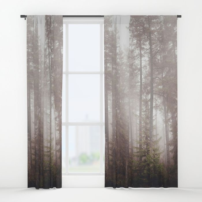A fogilicious morning Window Curtains by HappyMelvin | Society6