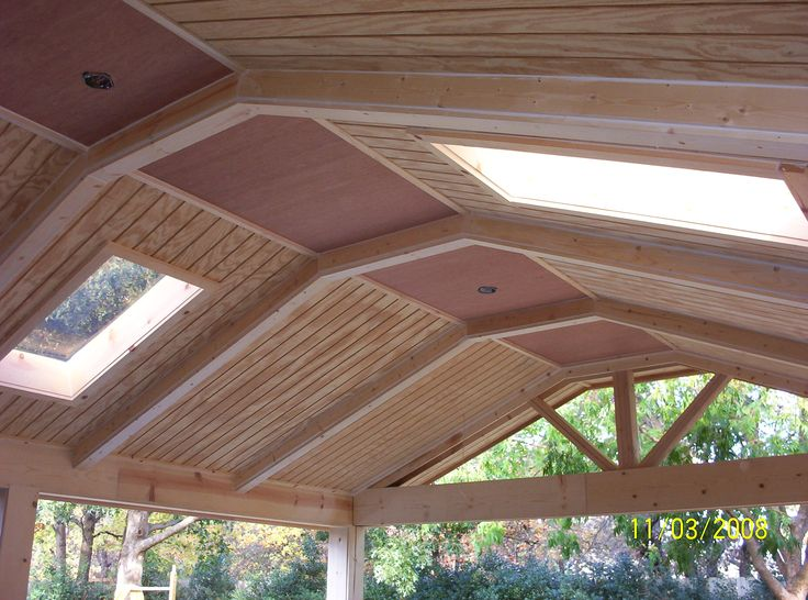 44 best images about patio roof designs on pinterest decks wood patio and roof design - Attic balcony design ideas ...