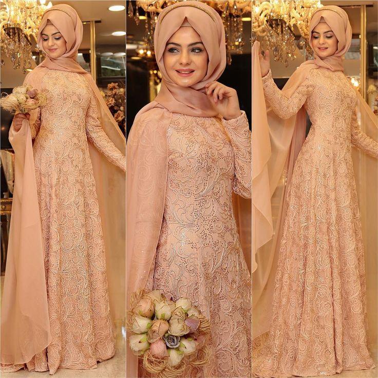 Hâre Somon Abiyemizi bi de yakından görün ☺️ #pınarşems #hareabiye #newcollection #newcollection2016 #hijap #hijabi