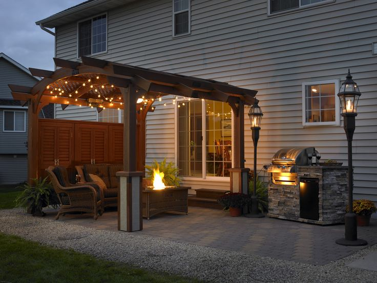 17 Best Images About Pergolas By The Outdoor Greatroom