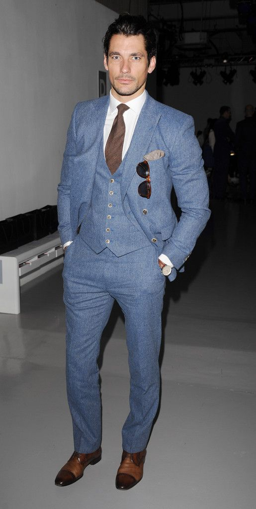 David Gandy - Lou Dalton - London Collections: MEN SS14