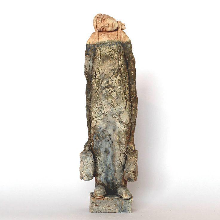 Traveling  2.69, Ceramic Sculpture, Unique Ceramic Figurine by arekszwed on Etsy