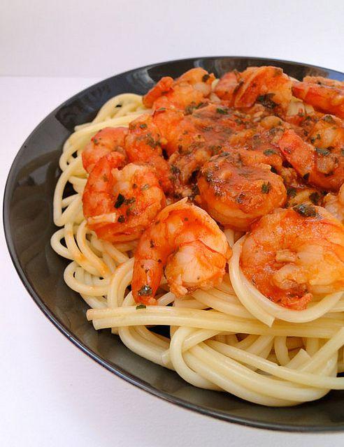 Shrimp fra diavolo by Chichoskitchen, via Flickr