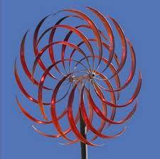 kinetic wind sculpture - lines