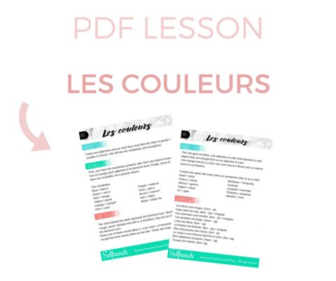 PDF Lessons – Selfrench