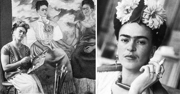 Frida Kahlo es una mujer artista, pintora, luchadora que desafió los estereotipos femeninos de la época. Conoce la vida de esta artista a través de 20 fotos