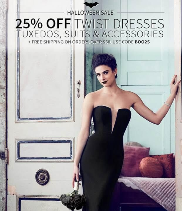 Twist Dresses, Accessories, Tuxedos & Suits on Sale #DessyGroup