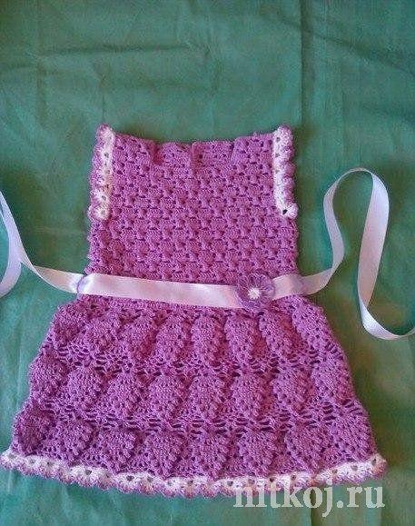 ❤ ✿ Mi Rincón del Tejido ✿ ❤: Diseño vestido para bebe paso a paso