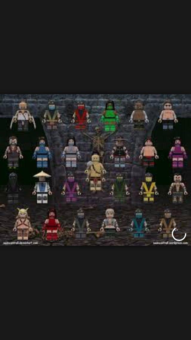 Lego Mortal Kombat Scorpion Vs Sub Zero | www.imgkid.com ...