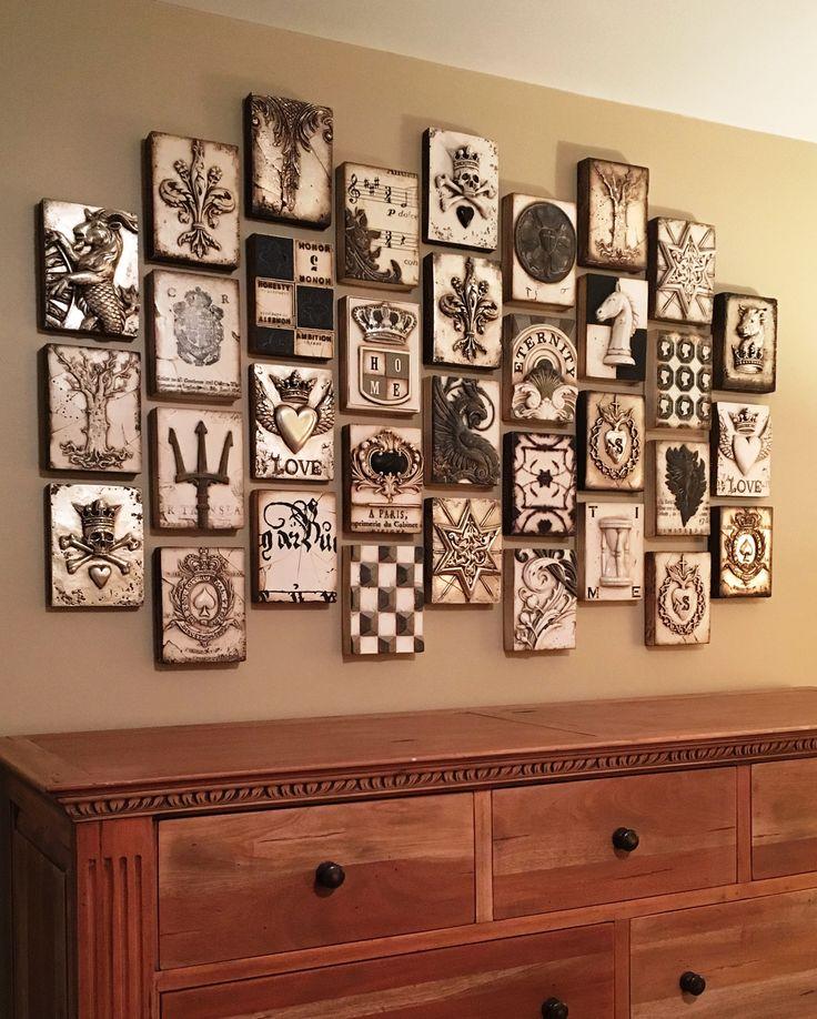Mejores 3115 im genes de muebles pintados a mano en - Armarios pintados a mano ...
