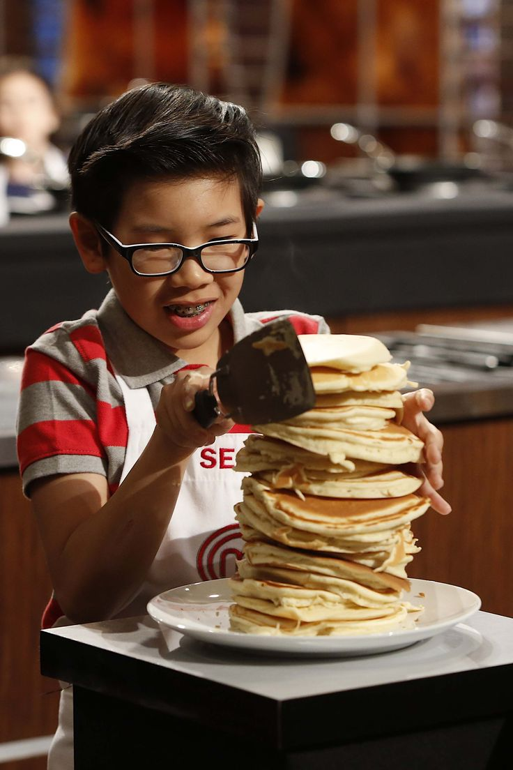 Talk about a Master Pancake! See what contestant Sean whips up next on MasterChef Junior TUES at 8/7c on FOX.
