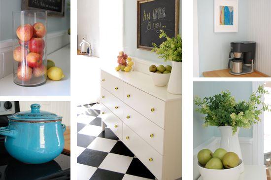 Painted Tarva dresser from Ikea