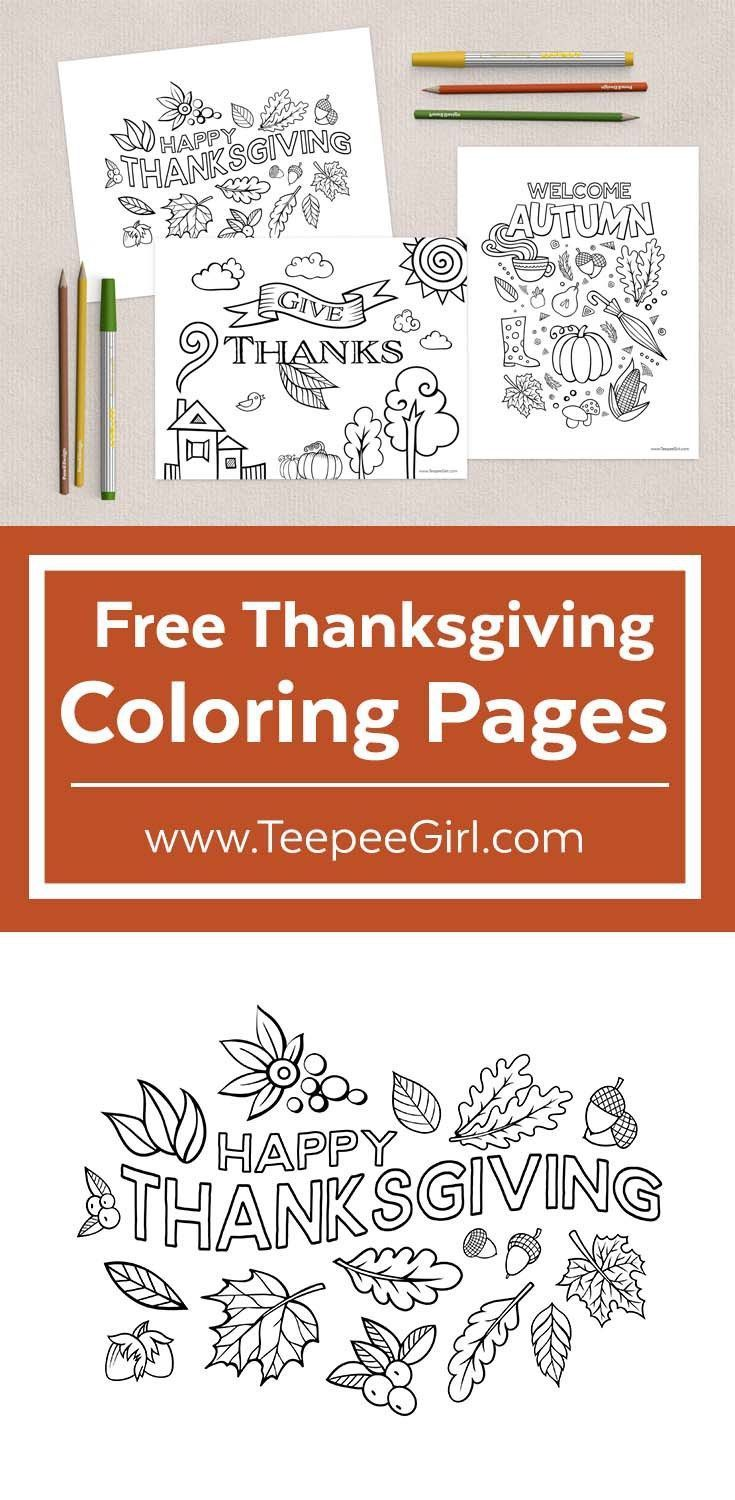 These free coloring pages are perfect for kids and adults! There are three free beautiful pages to choose from. Keep kids busy and help adults cope with the stress of the holiday season with coloring. Get them today at www.TeepeeGirl.com!