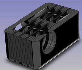 custom speaker boxes detail cutaway of inner speaker box