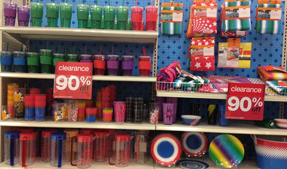 10 tips for shopping target clearance