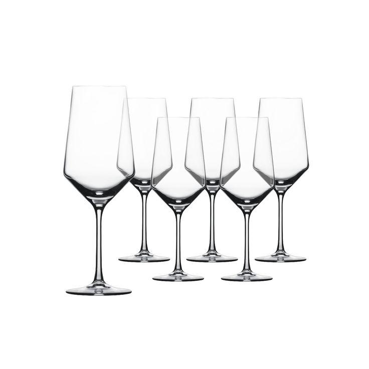 Schott Zwiesel Bordeaux Glas Set 6tlg. aus der Glasserie Pure