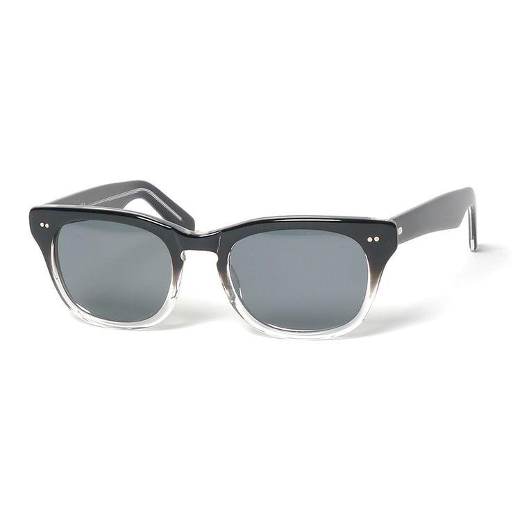 x Shuron Sunglasses Black Frame/Grey Lenses