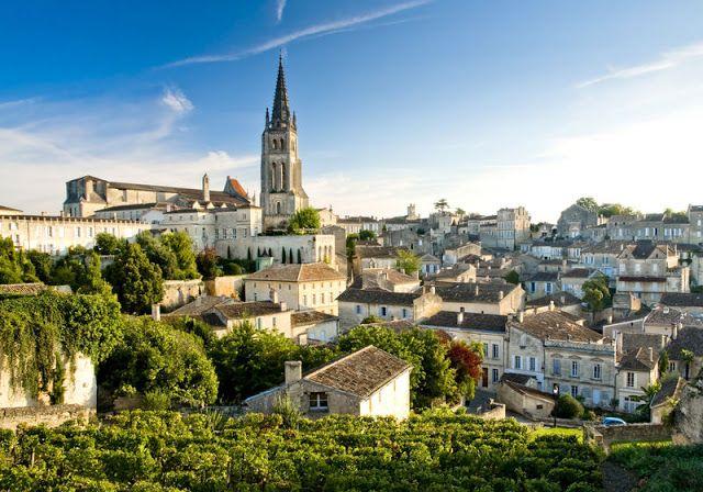 Saint- Emilion, Bordeaux, France