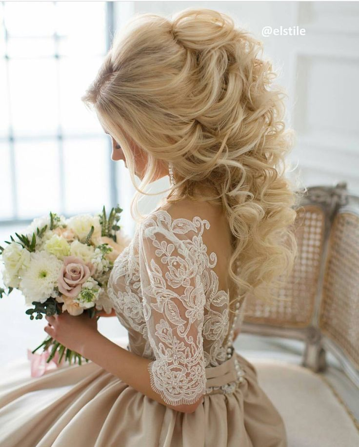 Most beautiful wedding hair ever!