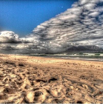 Cape Town I South Africa I Blouberg beach. Wyśmienity wave I photo: Sam Medysky