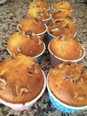 Portakallı, Cevizli, Kuru Üzümlü Muffin! En Nefis Muffin Tarifi!