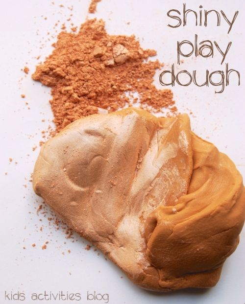 Make It Shine: {Super Shiny} Play Dough Ideas