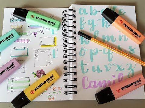 Camila Cabral Desenhos: Dicas como usar Stabilo Boss Pastel