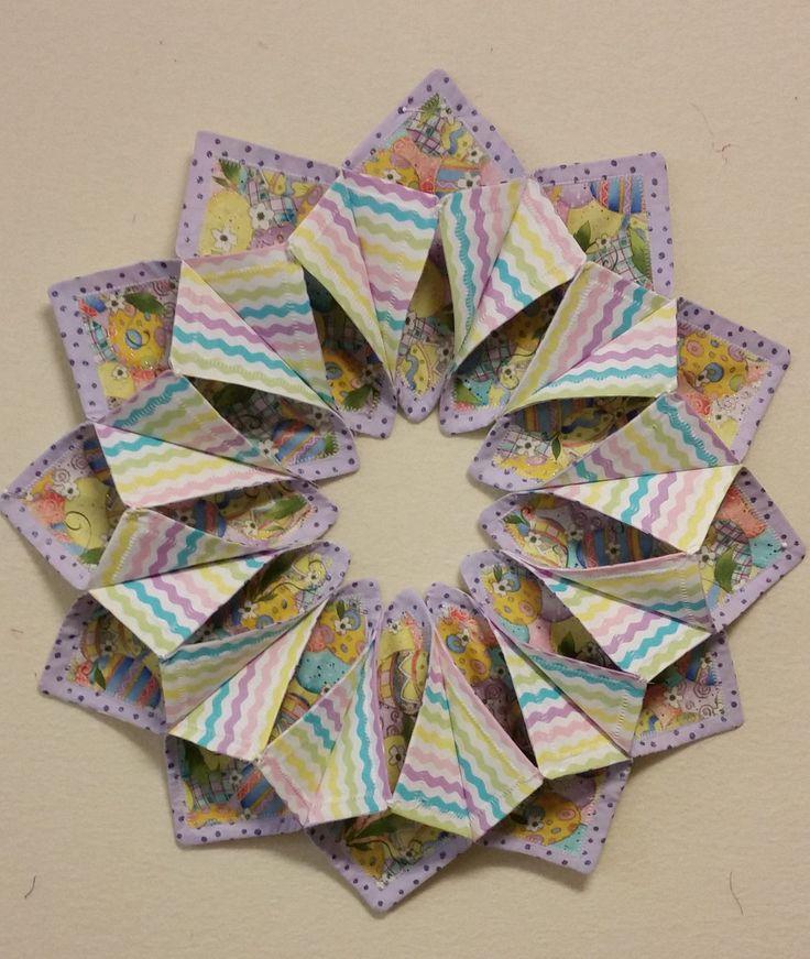 Www Fotoventasdigital Com Diy Burlap Wreath That Folding: Pin By Barbara Acchino On Fold N Stitch Wreath Ideas