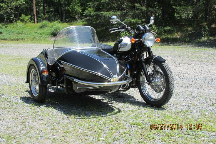 2009 triumph bonneville t100 with watsonian sidecar | triumph