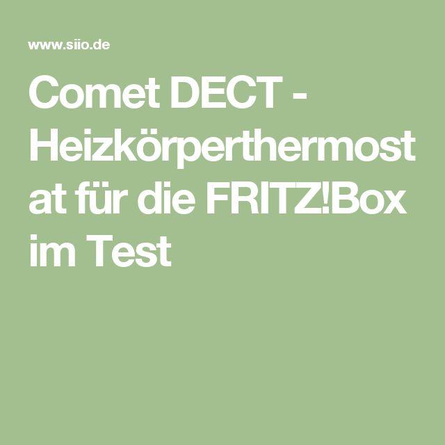 Comet DECT - Heizkörperthermostat für die FRITZ!Box im Test