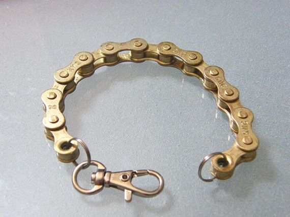 Bike Chain Bracelet! I just broke my chain... excellent timing...
