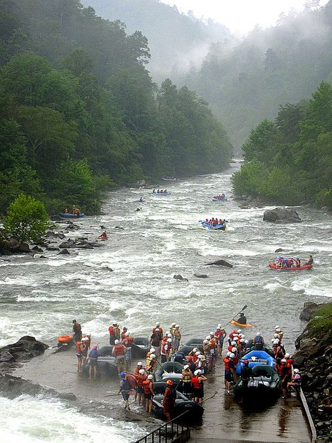 Ocoee River water rafting in TN was terrific! We had been once before but went again as an anniversary present from me to Jason in 2012.
