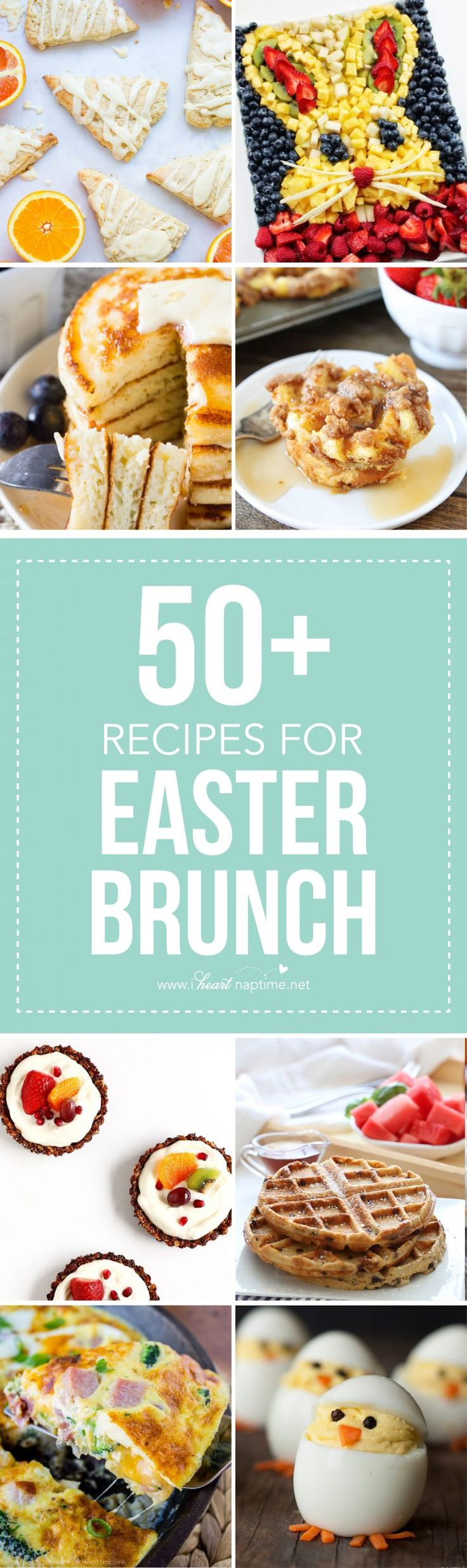 Top 50 Easter Brunch Recipes that will please every guest on your list…delicious recipes for the Easter holiday, the perfect occasion to enjoy your family and welcome spring with a delicious brunch.