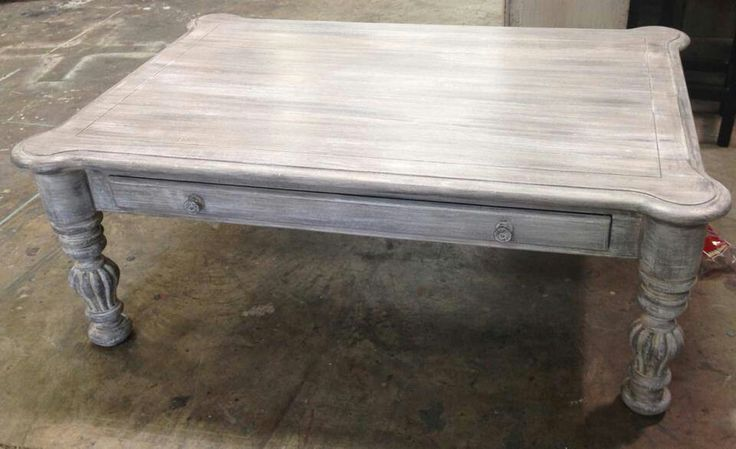 Lovely Amazing Las Idea Pretty Much Grey Wash Coffee Table: