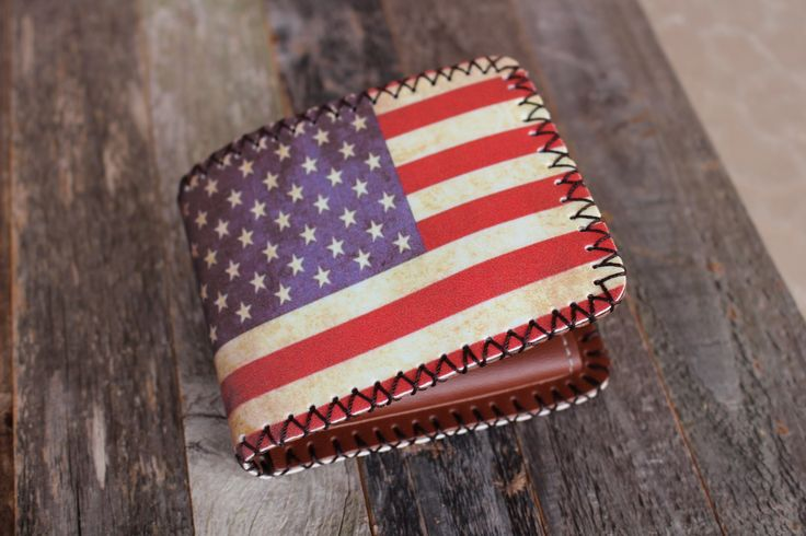 American Flag Men's Wallet — FREE SHIPPING — Limited Quantities – Wallet Hipster
