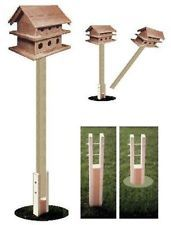 pressure treated GROUND SOCKET for PURPLE MARTIN BIRD HOUSE swivel pole system