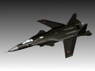 3D Sukhoi Su 47 Berkut Model - 3D Model