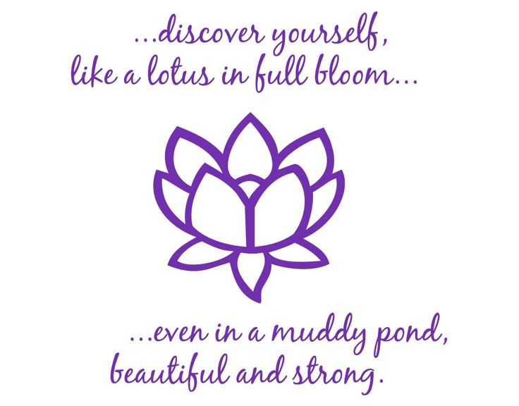 LOVE IT!!!   WANT!  ON SALE Beautiful Lotus Flower 2 Vinyl Wall Art by WallStickums, $32.00